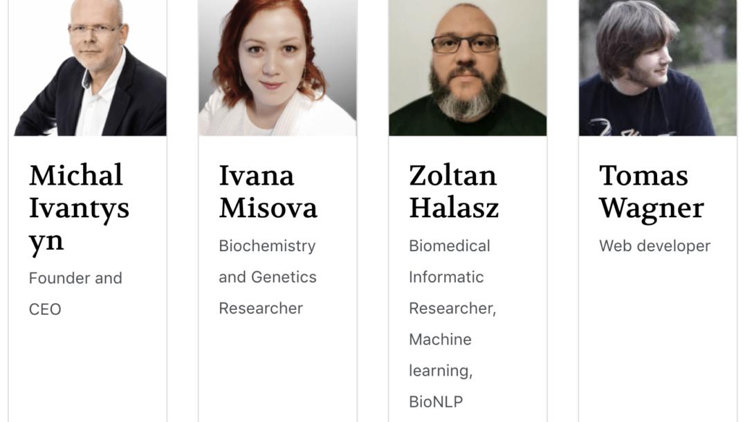 CEO covid19-help.org Michal Ivantysyn a jeho tím