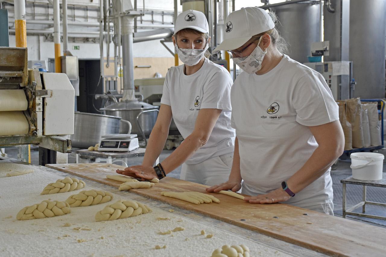pekáreň, práca