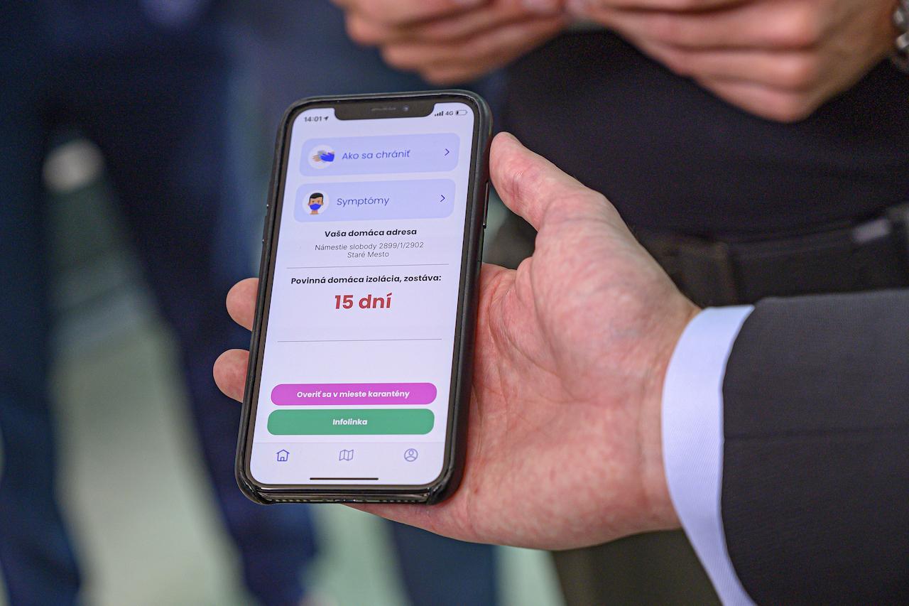 smart karanténa, aplikácia eKaranténa