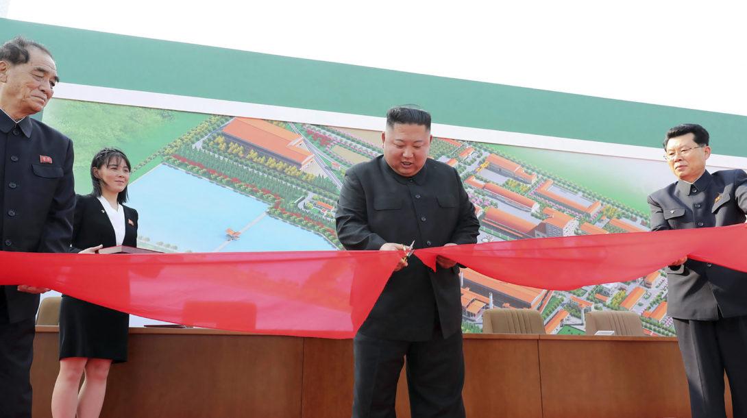 Korean Central News Agency/Korea News Service via AP