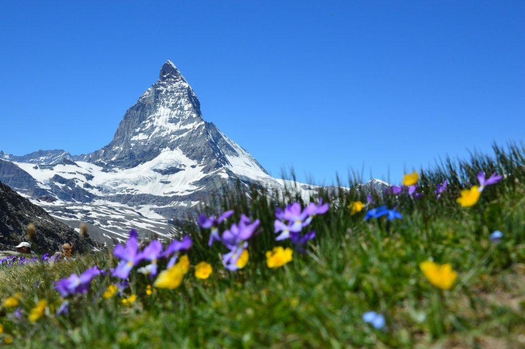 Matterhorn, Švajčiarsko