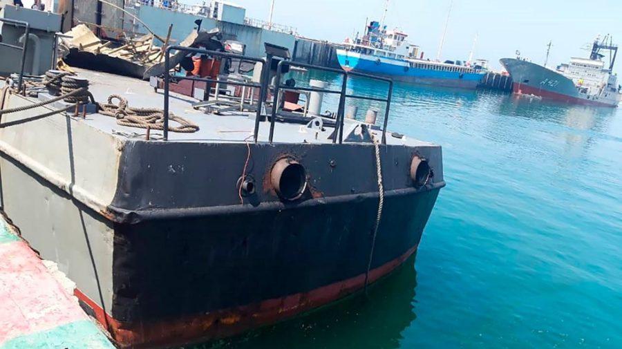 irán loď