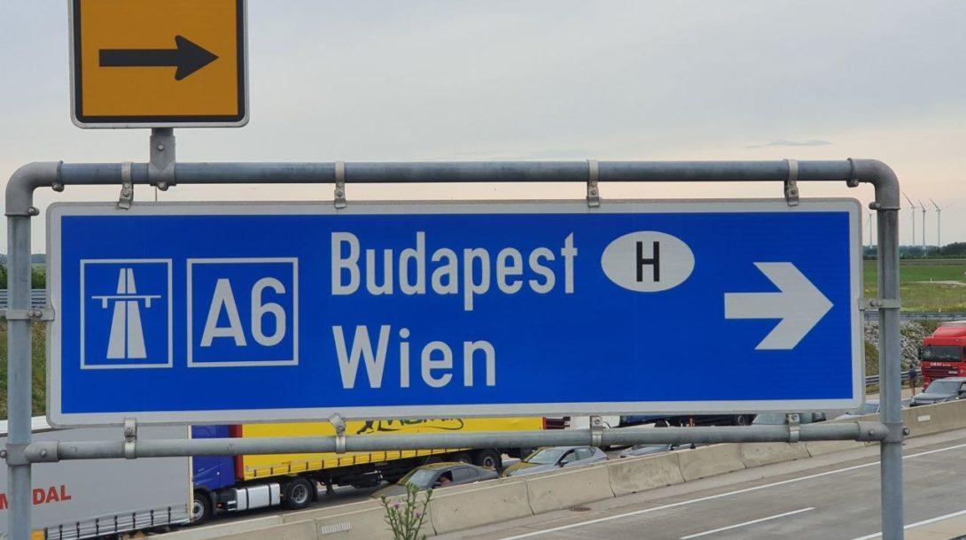 vieden maďarsko cestovanie