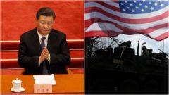 čína usa vojaci