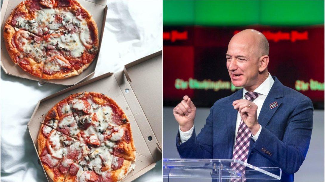 bezos pizza