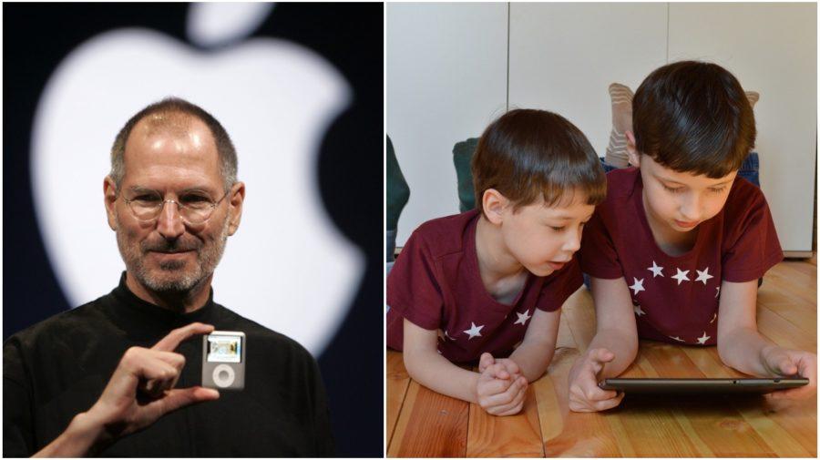 steve jobs tablet deti