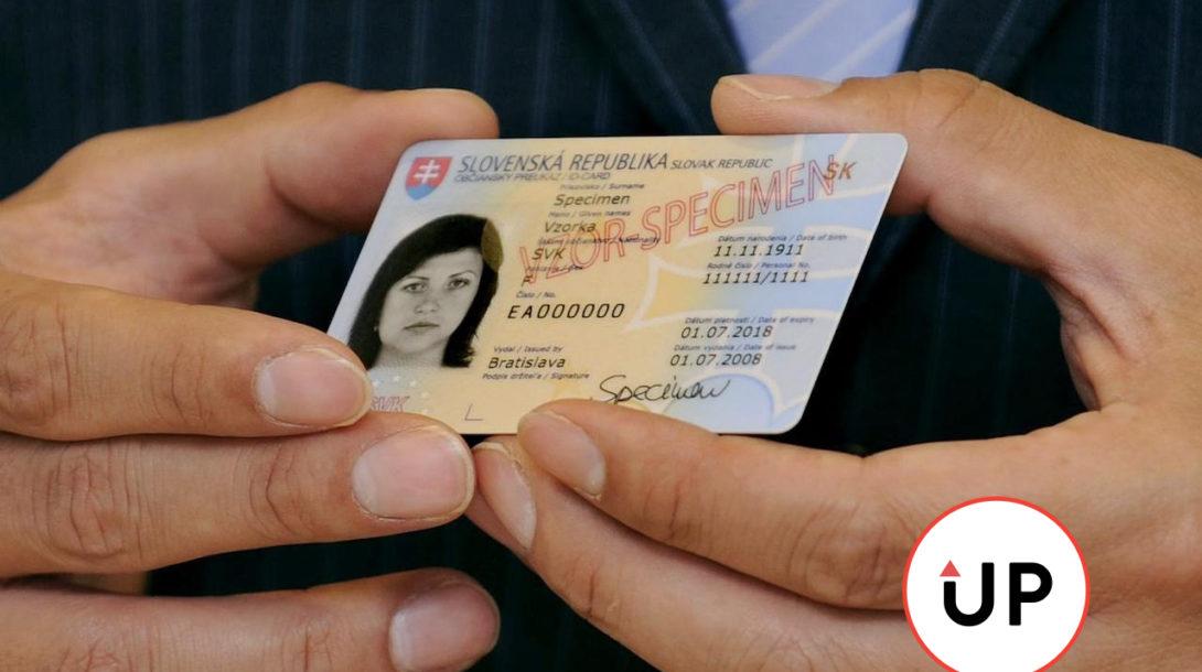 občiansky preukaz, doklad