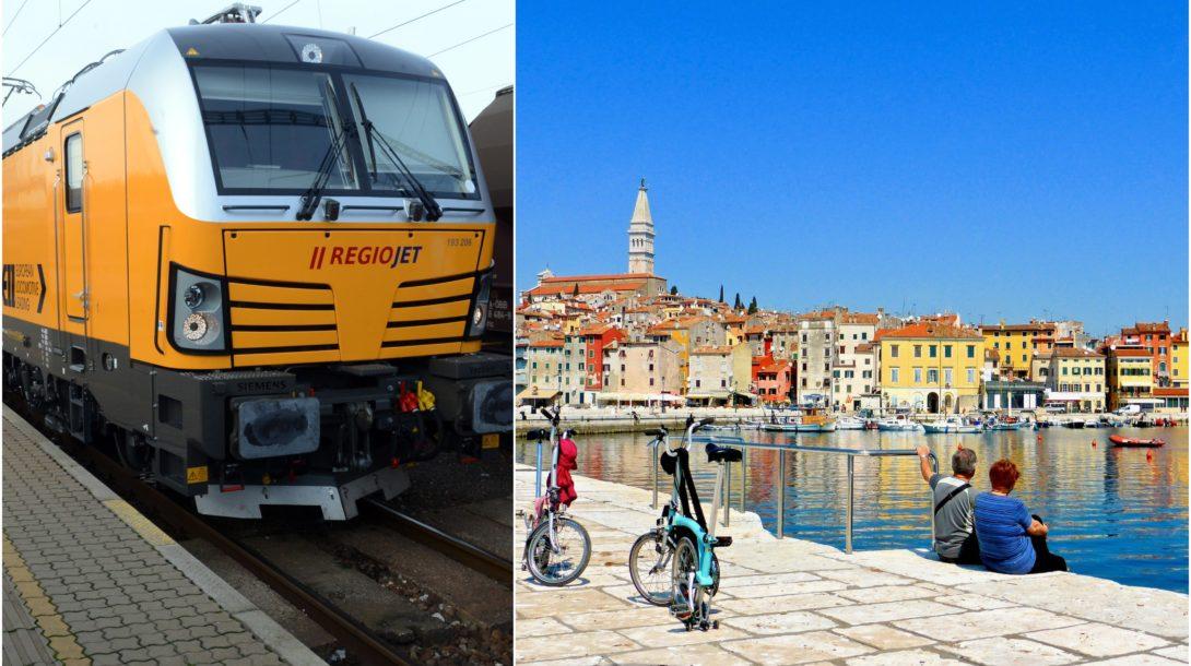 Chorvátsko, vlak