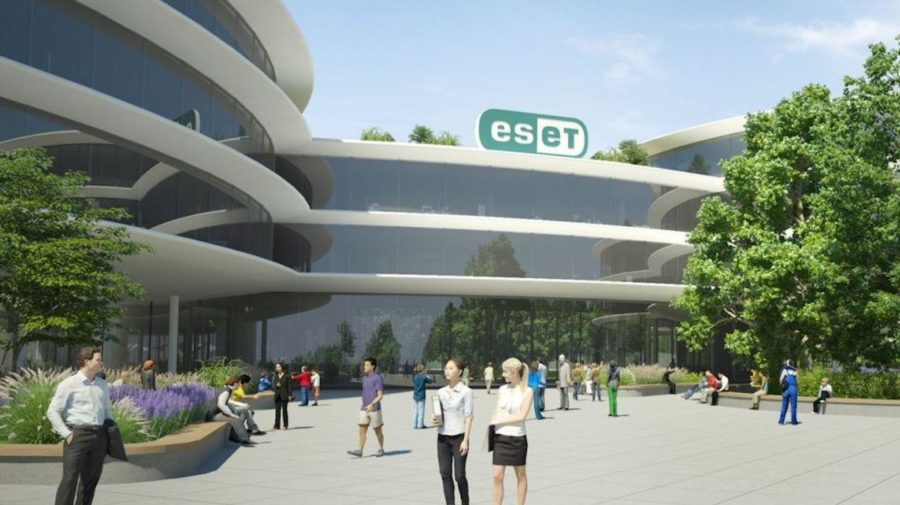 ESET campus vizualizácia