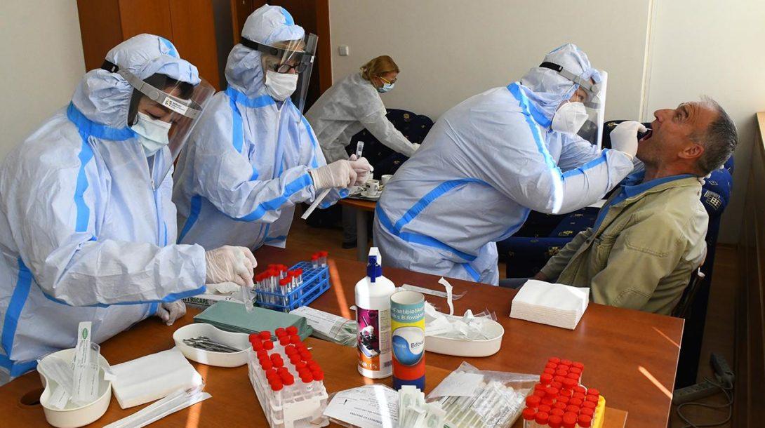 koronavírus testy