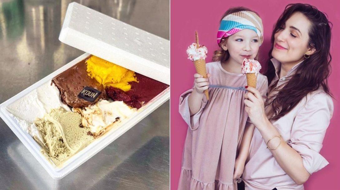 koun zmrzlina