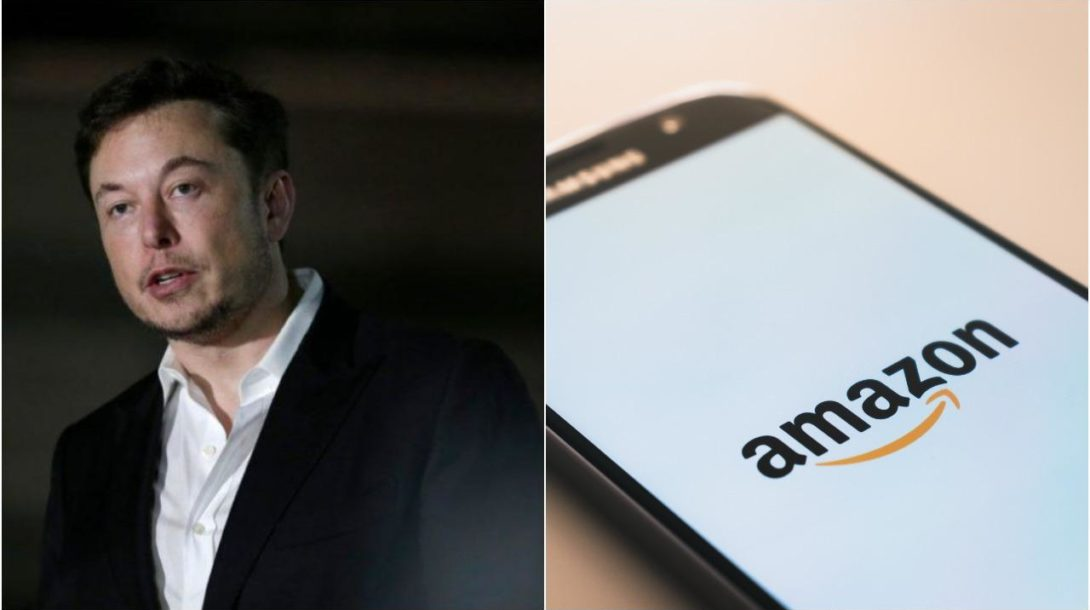 Elon Musk volal na Twitteri po rozpade Amazonu