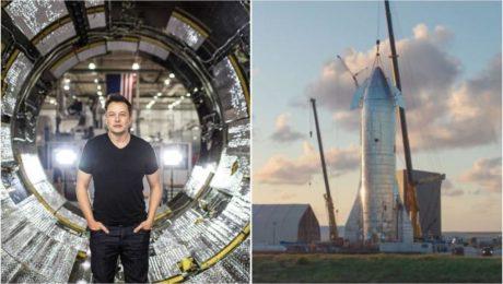 Elon Musk povedal svojim zamestnancom že stavba lode Starship je TOP Prioritou