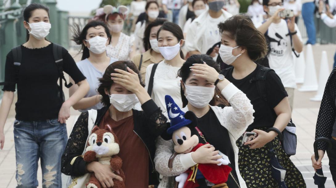 koronavírus, Japonsko