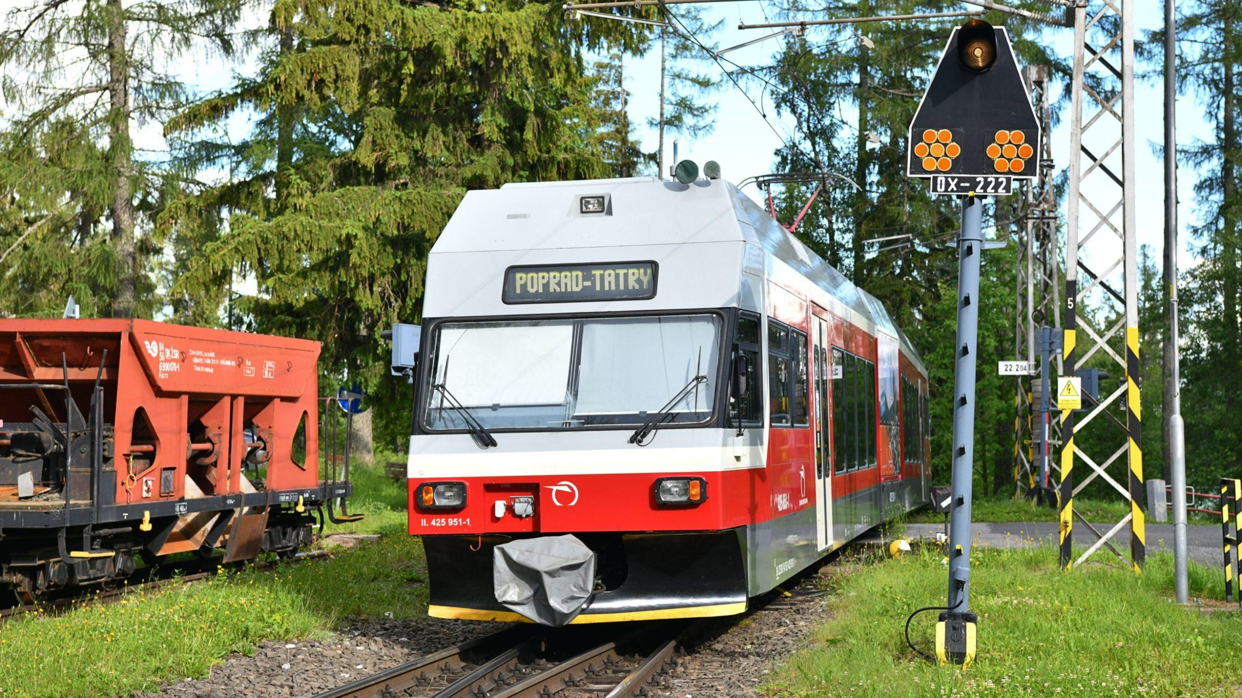 Tatranská elektrická železnica, Tatry
