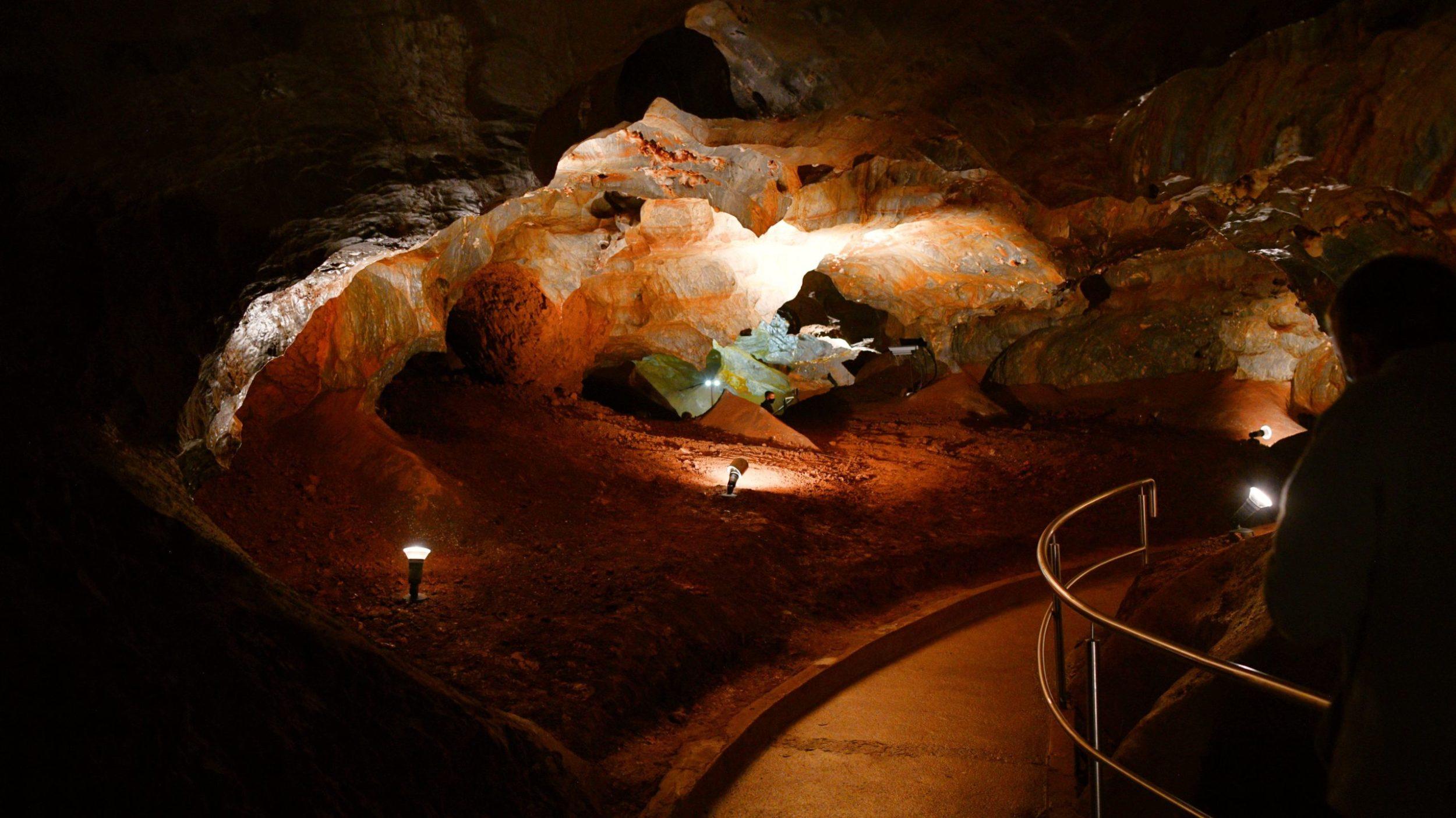 Ochtinská aragonitová jaskyňa, Gemer