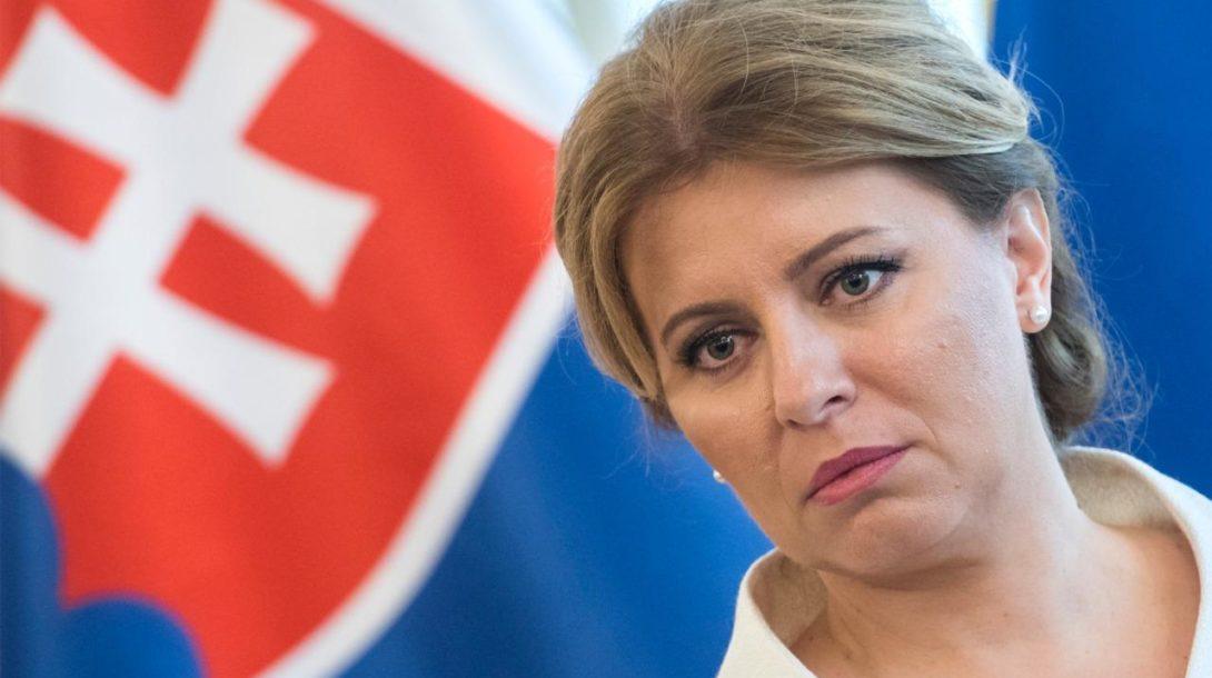 čaputova prezidentka slovensko