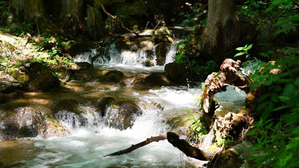 Divoká rieka Blatnica je hlavným dôvodom, prečo Zádielska tiesňava existuje. Časom si vymyla kaňon hlboký aj 400 metrov.