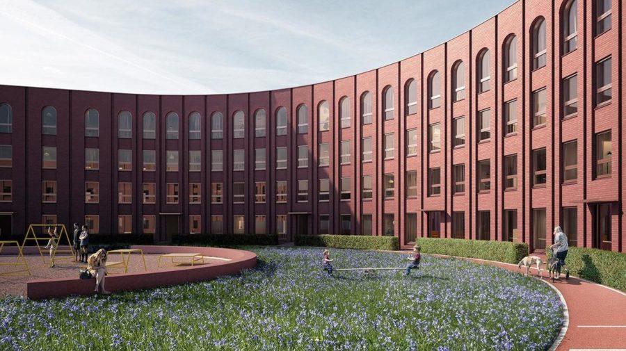 štadion glasgow stavba architektúra