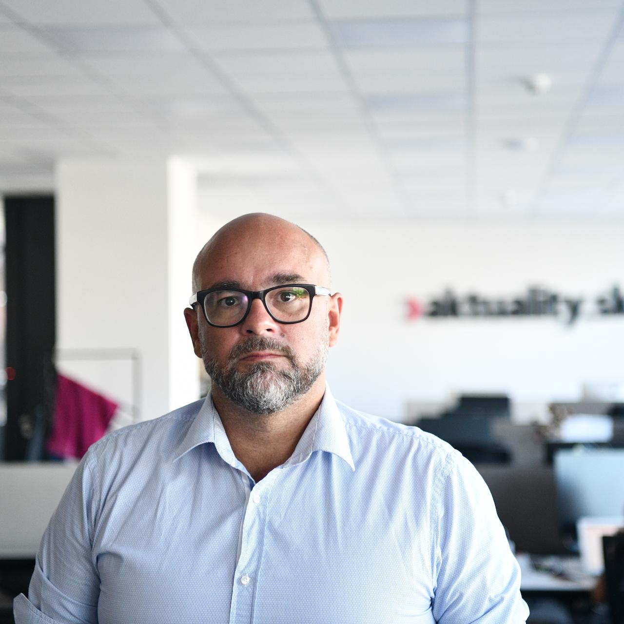 Šéfredaktor Aktualít Peter Bárdy