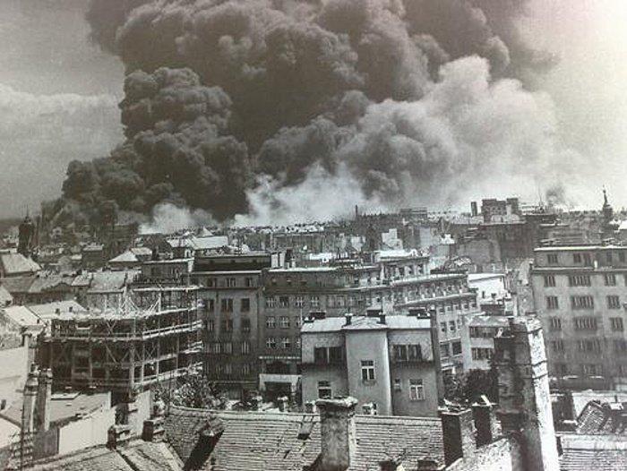 bombardovanie Bratislavy
