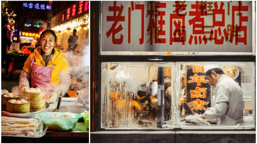 čína jedlo mäso