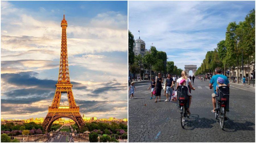 Paris car free