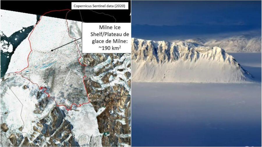Milne ľadovcový štít