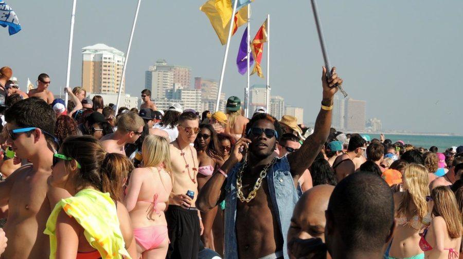 párty na pláži