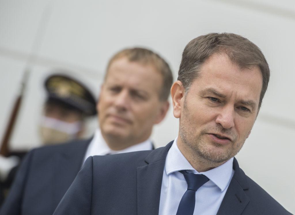 Igor Matovič a Boris Kollár