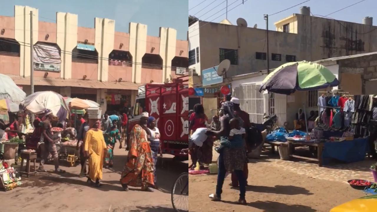 Trh v Gambii