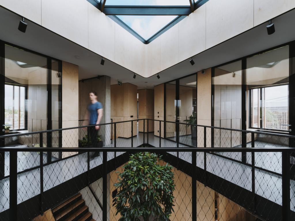 RB architects kancelárie administratívna budova