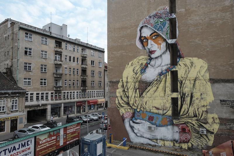 street art Bratislava