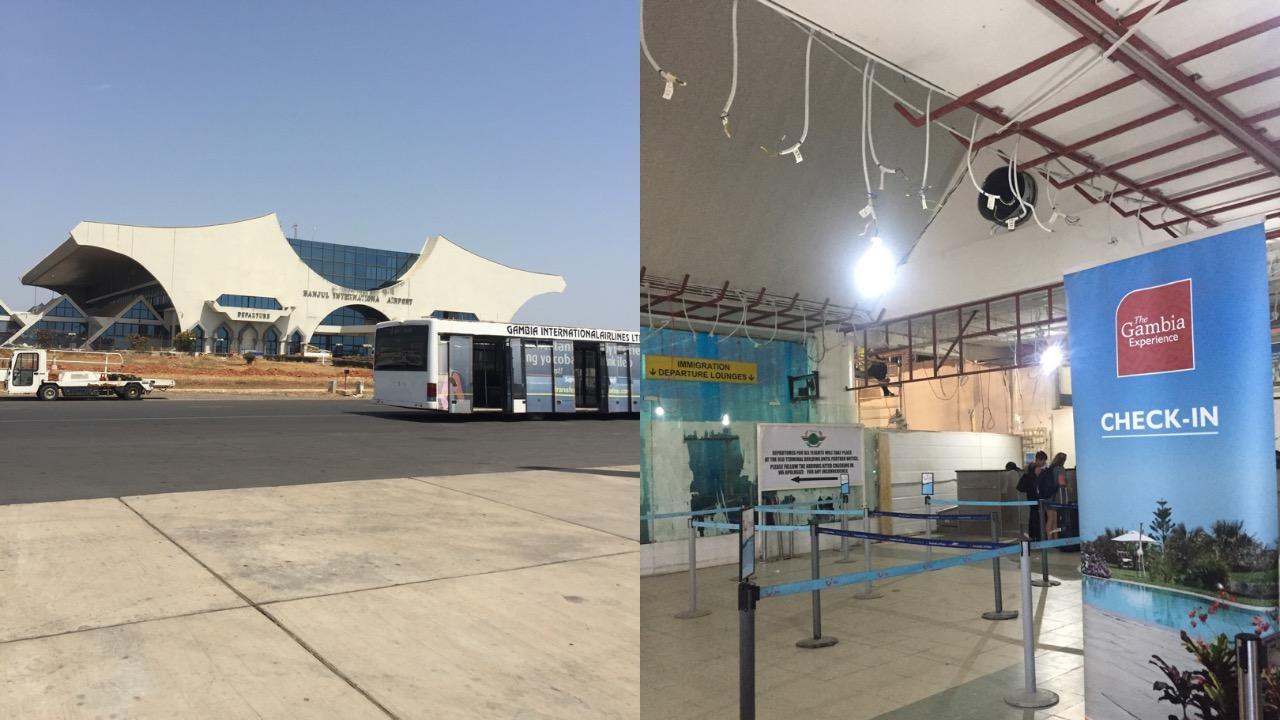 Letisko v Gambii