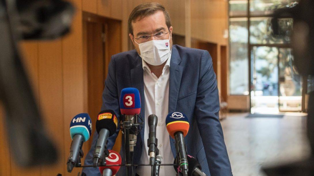Marek Krajčí Minister zdravotníctva