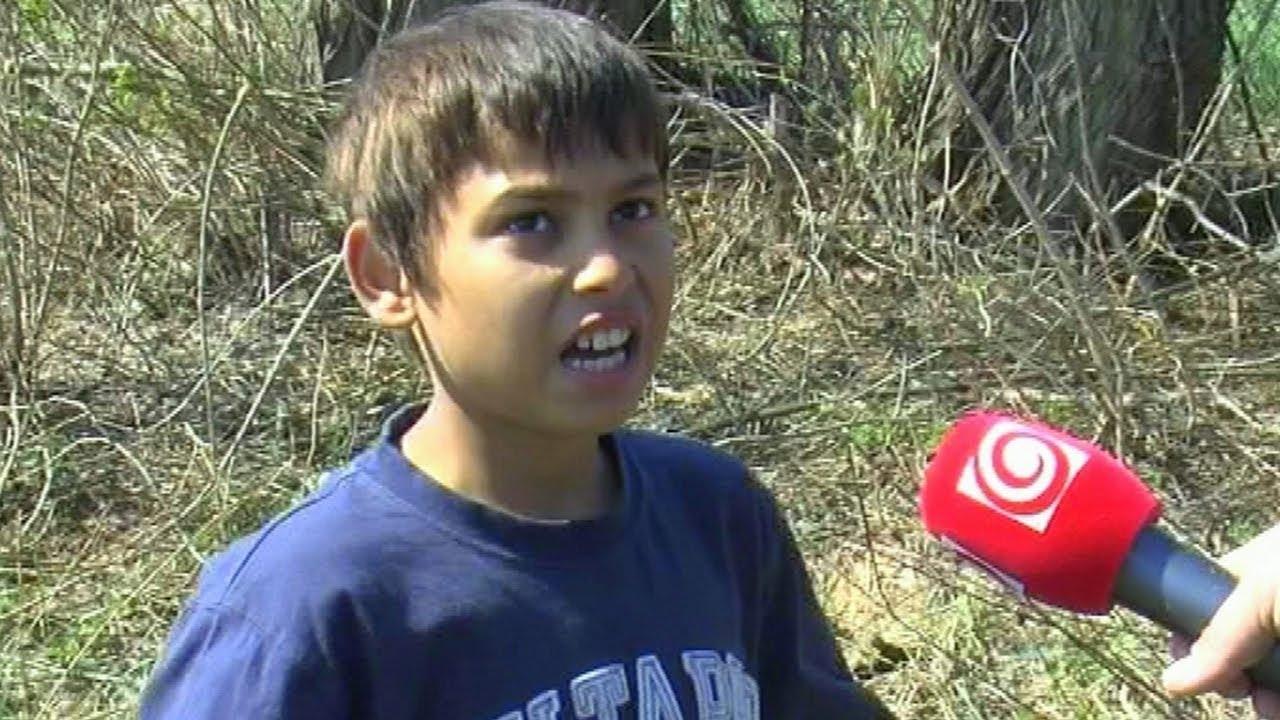 Chlapca uniesol Satan