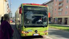 autobus MHD Mercedes Benz