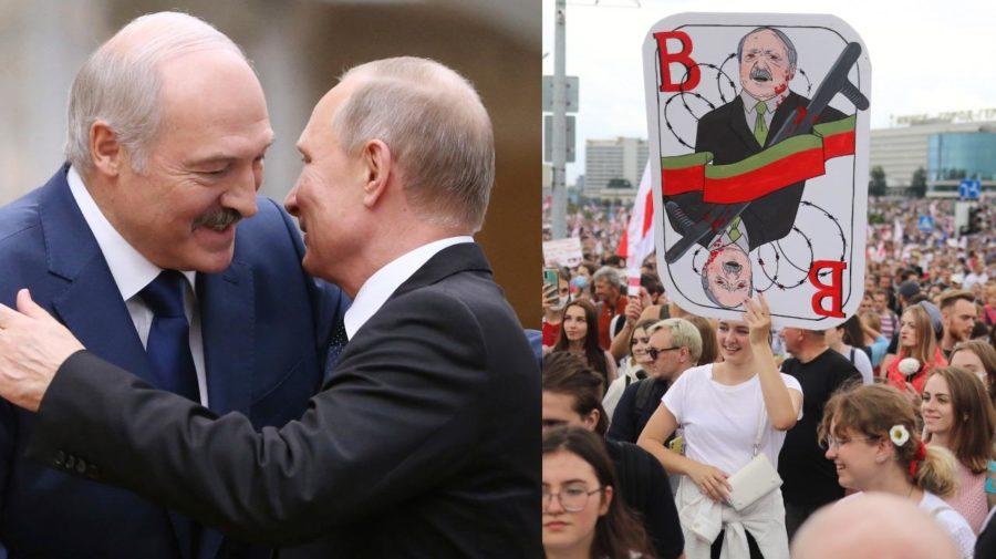 lukašenko,putin,protesty