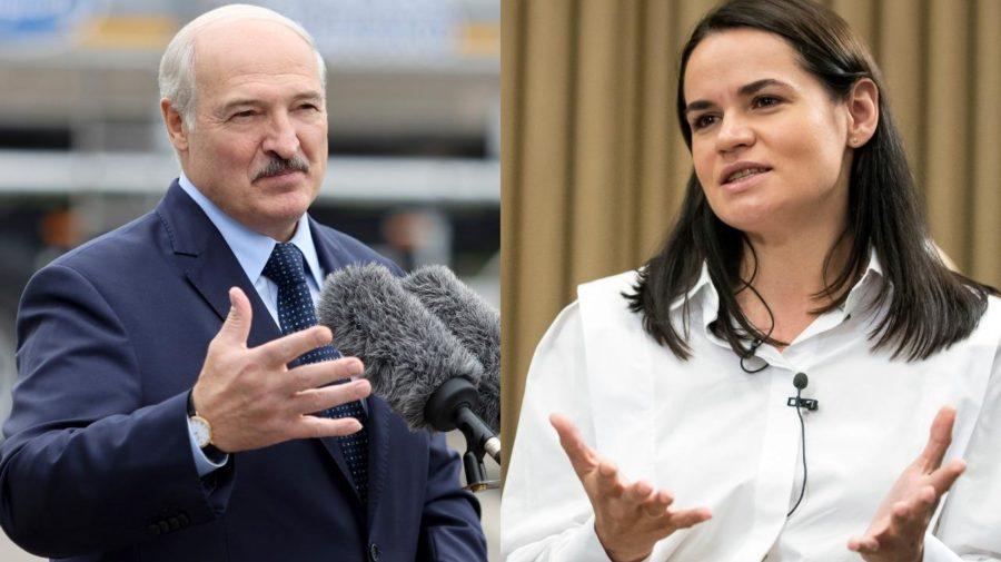 Alexandr Lukašenko, Cichanovská