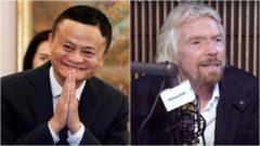 Jack Ma, Richard Brandson