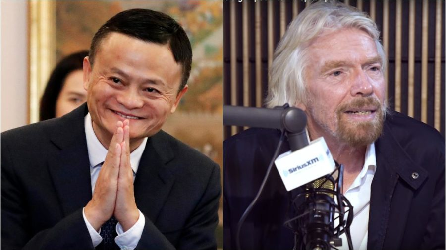Jack Ma, Richard Brandson