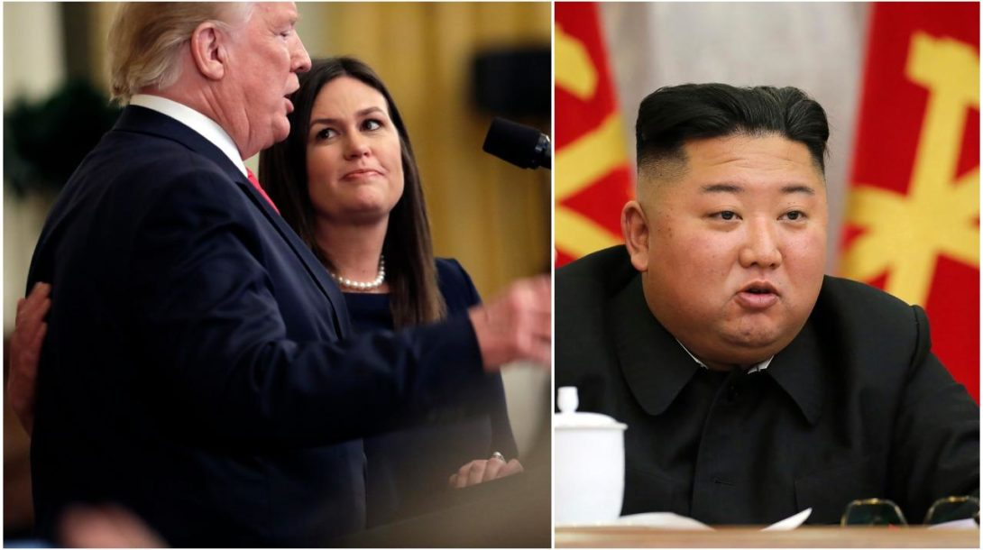Trump, Sanders, Kim