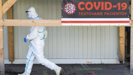 nemocnica, koronavírus testovanie