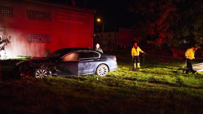 Boris Kollár autonehoda