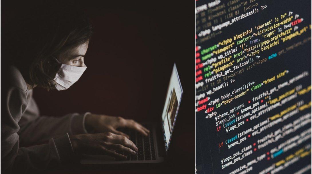 programovanie, kód, hacker