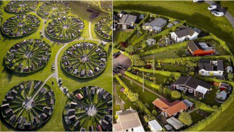 Brøndby Garden City Dánsko envirko eko domy architektúra