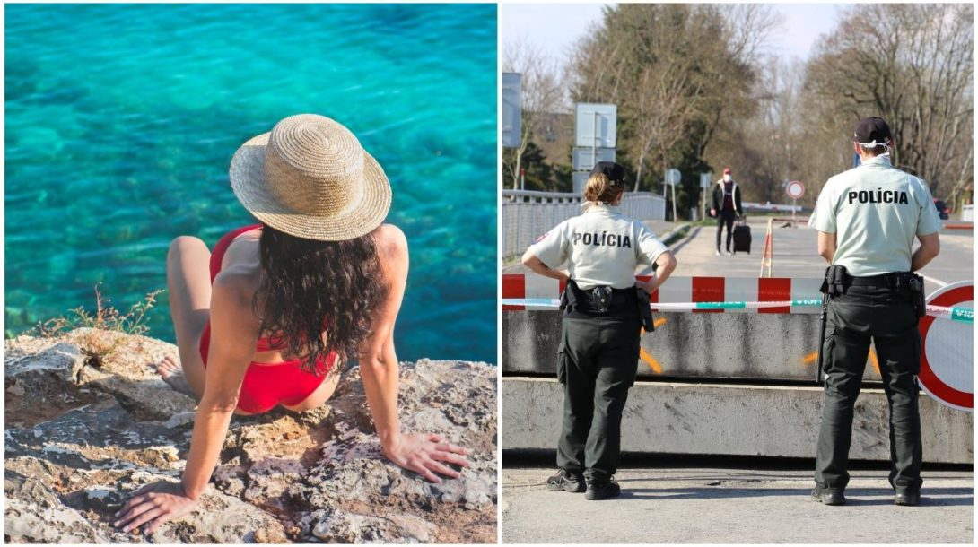 dovolenka, pláž, more žena