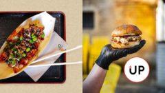 Street food rozvoz donáška