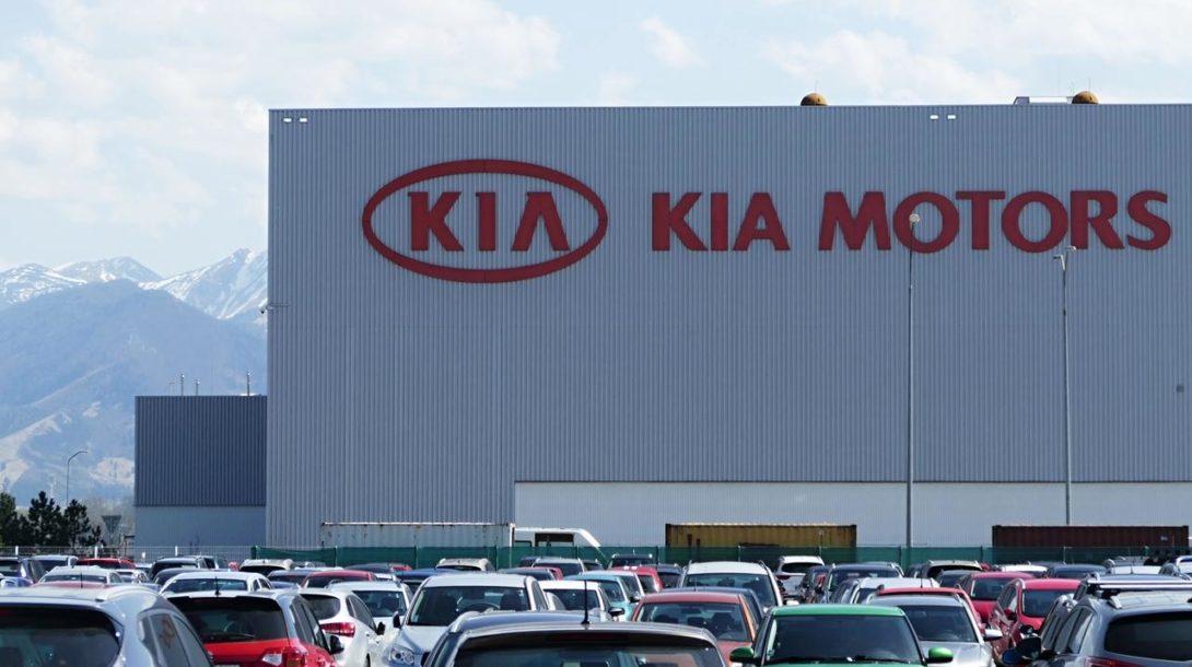 KIA Motors auto výroba