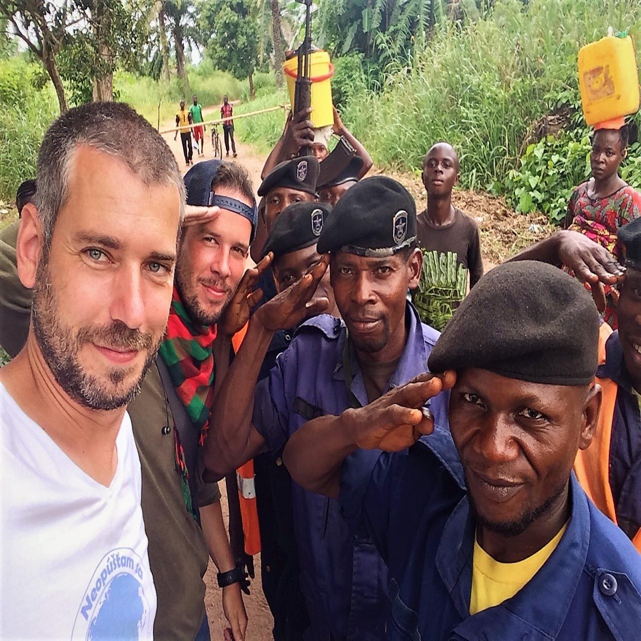 Martin Navrátil. Kongo. Afrika